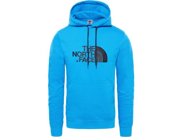 The North Face Light Drew Peak Pullover Hoodie Men bomber blue/tnf black